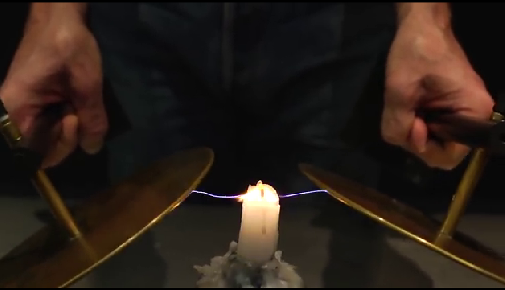 Flame electricity